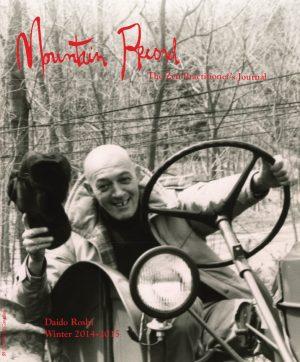 Mountain Record - Winter 2015 - Cover