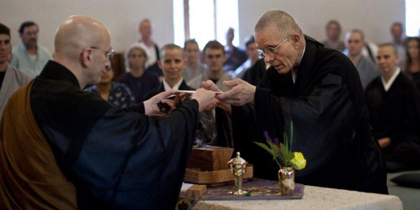 Moshin and Onjin's Novice Ordination Ceremony