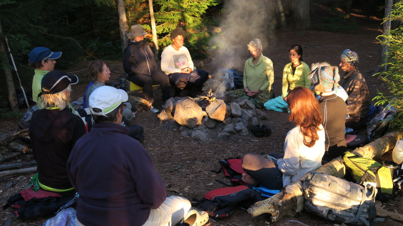 Campfire zazen